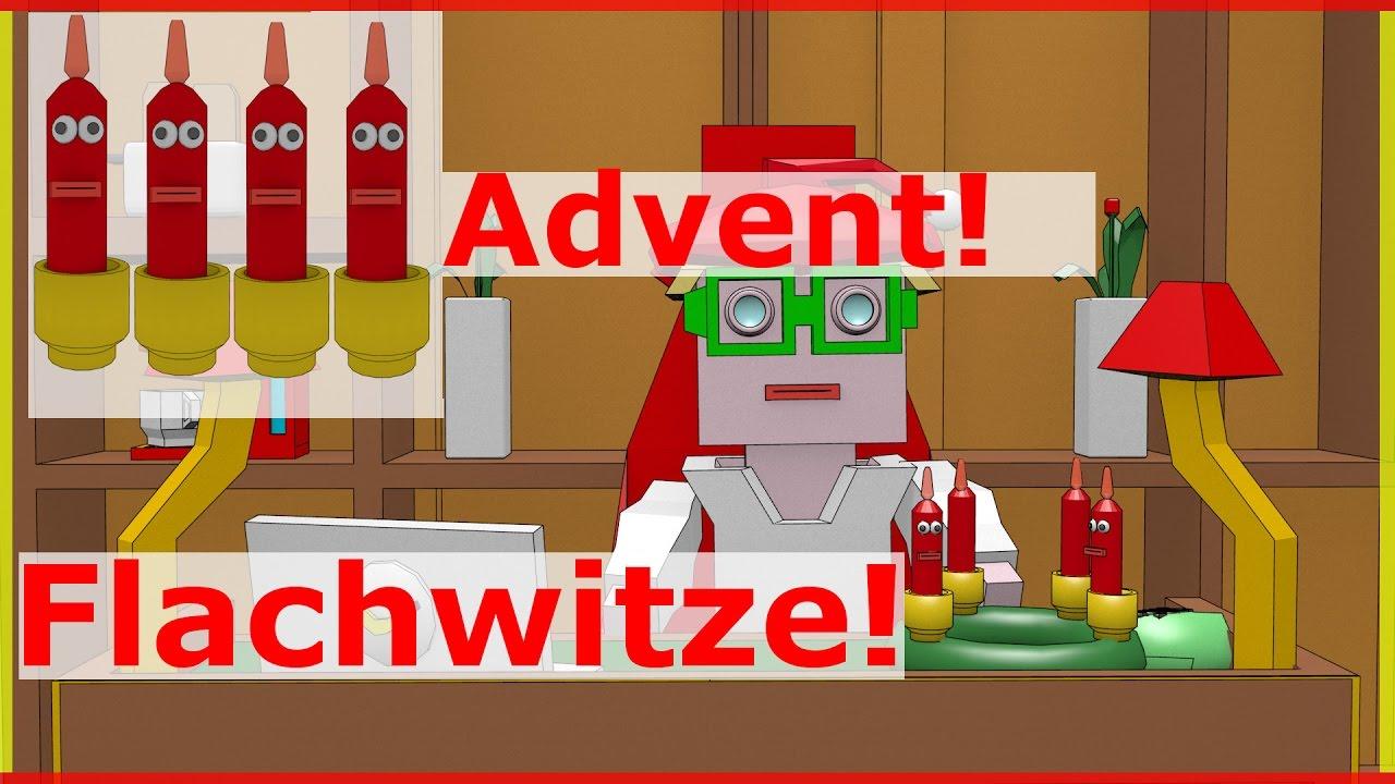 advent video lustig flachwitze mit kerzen dernerditv animation youtube. Black Bedroom Furniture Sets. Home Design Ideas