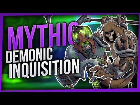 Demonic Inquisition | Mythic Tomb of Sargeras | Enhancement Shaman [WoW Legion 7.2.5]