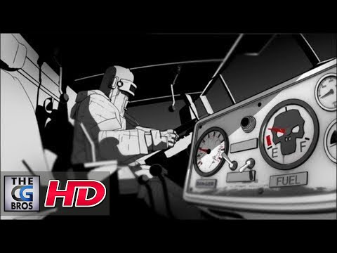 "CGI 3d Animated Spot :  ""Cannonball Run""  for Honda"