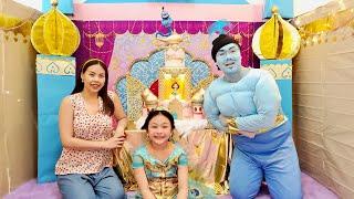 Aladdin Princess Castle for mom's birthday