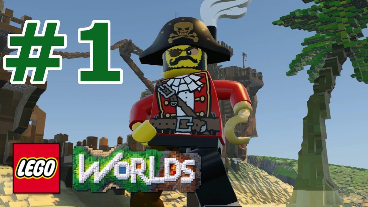LEGO Worlds: Story Mode Walkthrough: Part 1 - Pirate ...