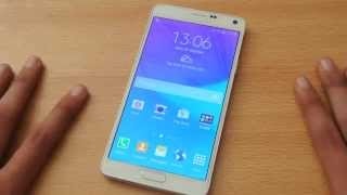 Samsung Galaxy Note 4 Android 4.4.4 KitKat Review HD mp3 indir