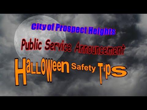 Happy Halloween City of Prospect Heights