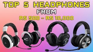 Top 5 Gaming Headphones 2020 | Which one to Buy [ Hindi ]
