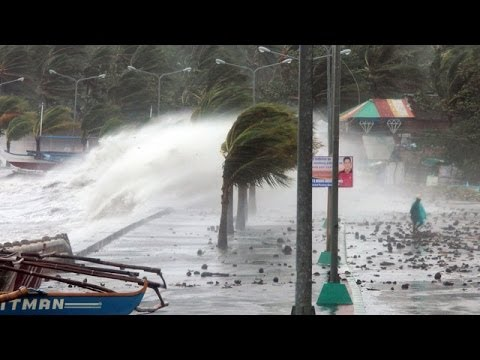 Typhoon Haiyan brings destruction and displacement to Philippines