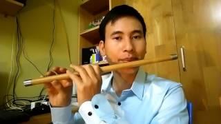 Mới tập chơi. Làm sao để thổi sáo hay    Cao Trí Minh