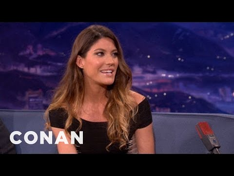 Jennifer Carpenter  120512  CONAN on TBS
