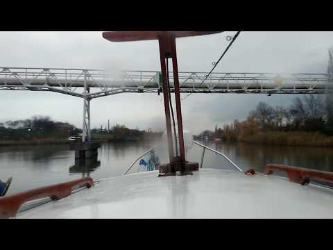 Cruising... - time lapse (Hungary, Budapest, Csepel/Soroksár, Small Danube Branch)