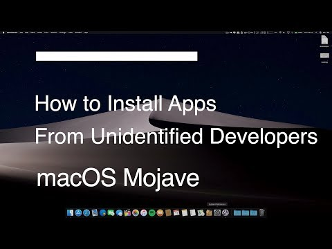 Disable Gatekeeper - Install Apps From Unidentified Developers On Your Mac