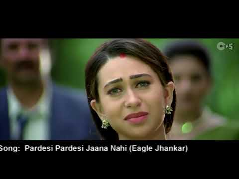 Pardesi pardesi Jana nhi (Eagle jhankar ) best videolove song .