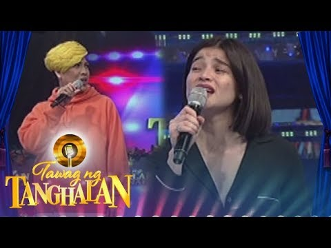 "Tawag ng Tanghalan: Anne Curtis sings a few lines from ""Paalam Na"""
