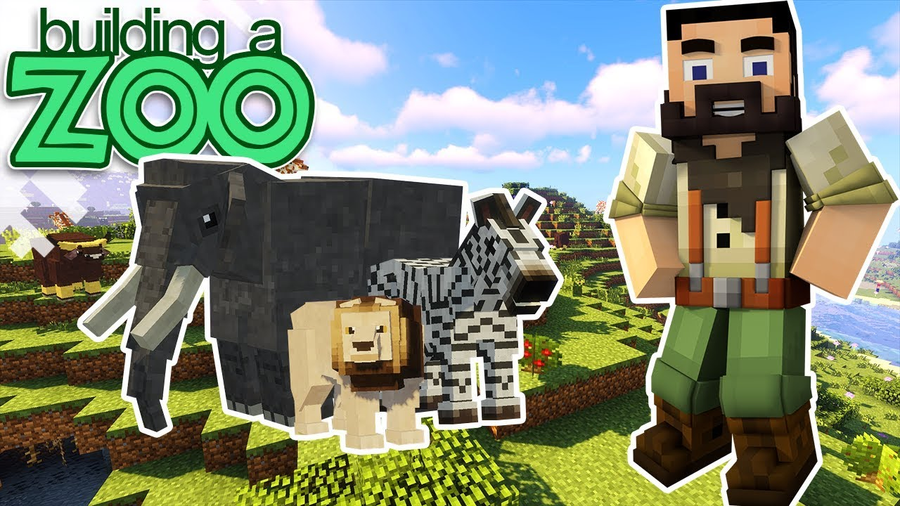 Download I'm Building A Zoo In Minecraft! - Getting Started - EP01