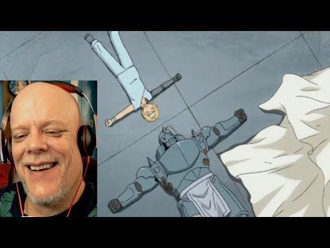 "REACTION VIDEO | ""FullMetal Alchemist Brotherhood #9"" - Another GREAT Ed & Al Moment!"