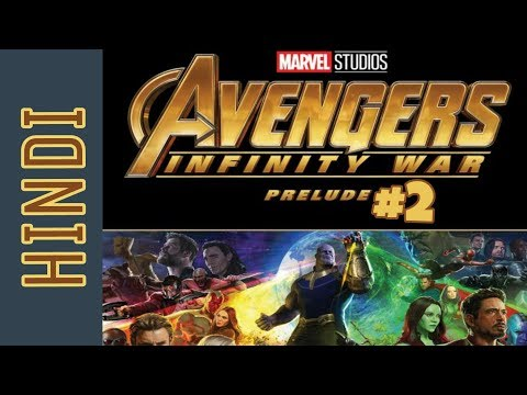 Avengers Infinity War PRELUDE Episode 02 | BlueIceBear | Marvel Comics in Hindi