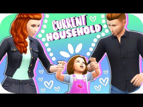 THE SIMS 4 // CURRENT HOUSEHOLD UPDATE – The Hartley Family💜 | July 2017