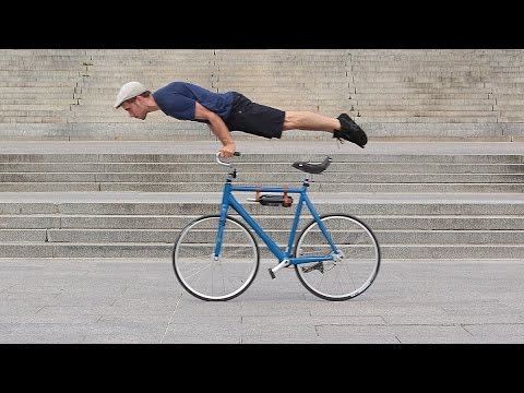 Artisanal Circus Cycling with Max Poulin, Fixie Tricks