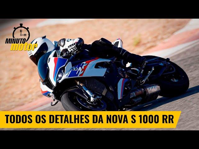 Nova S 1000 RR:  veja todos os detalhas da superesportiva da BMW