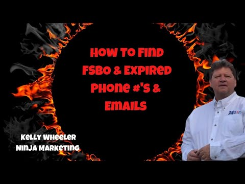 🔥🔥Where To Find The Best FSBO & Expired Listing Phone Numbers & Emails