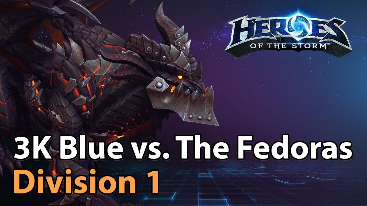 ► 3K Blue vs. Don Our Fedoras - Division 1 HeroesLounge - Heroes of the Storm Esports