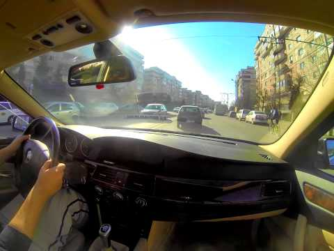 Visit Cluj-Napoca City with Bmw E60 and GoPro 3