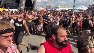 Warped Tour 2016: Inside the moshpit