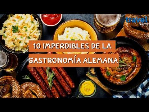 10 platillos imperdibles de la gastronomía alemana