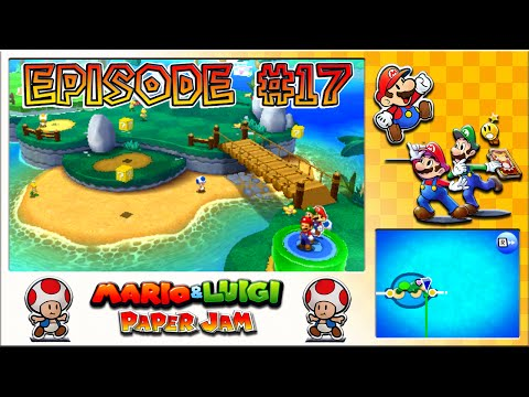 Mario & Luigi: Paper Jam - Twinsy Tropics Freedom, Miner Toad Saver - Episode 17