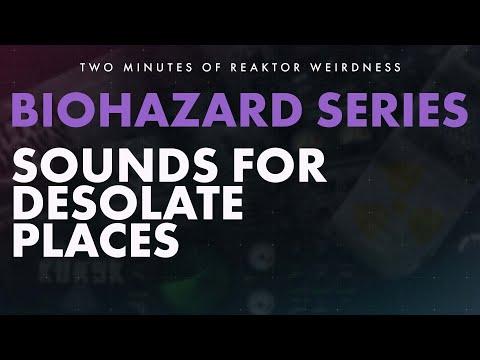 TMORW: BIOHAZARD SERIES - Industrial, Noise, Dark Ambient Reaktor Ensembles