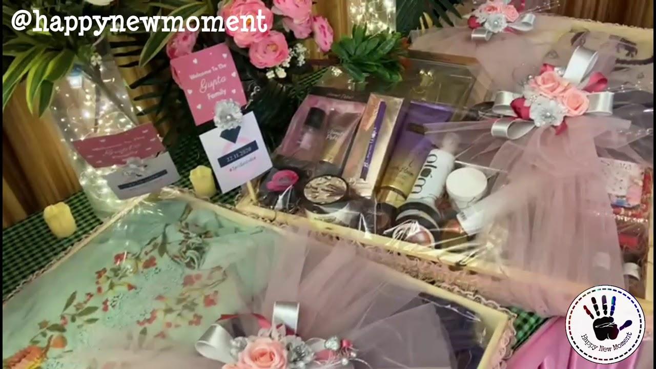 Trousseau Packing | Wedding Packaging | Engagement Packing | Wedding Trays | Wedding Platters