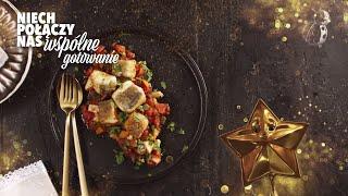 Ryba po grecku z bakłażanem - W te Święta niech połączy nas wspólne gotowanie