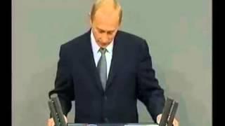 Putins liebevolle Rede im Deutschen Bundestag - 2001