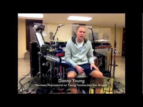 Danny Young - Young Frankenstein Drummer / Percussionist