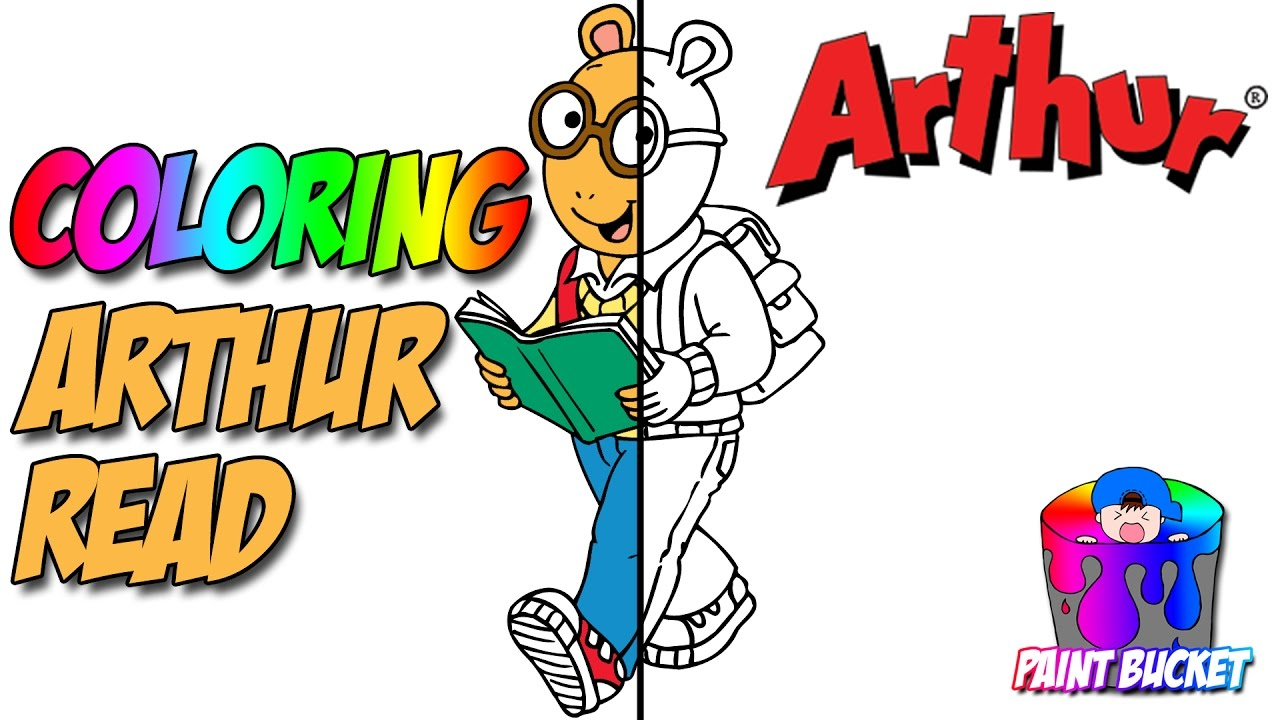 arthur coloring pages pbs kids coloring book for kids to learn colors