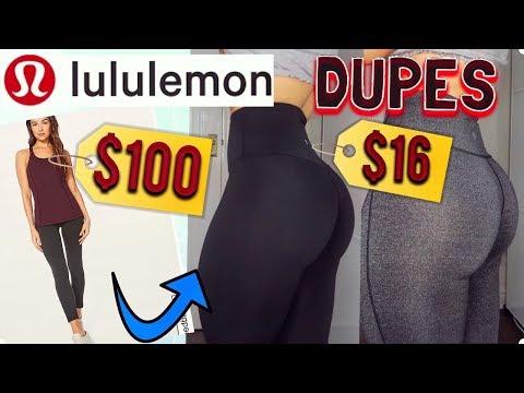 AMAZON LEGGINGS HAUL| $16 LULULEMON DUPES... SO SHOCKED!