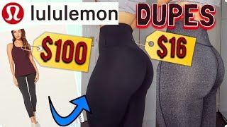 AMAZON LEGGINGS HAUL| $16 LULULEMON DUPES... SO SHOCKED!