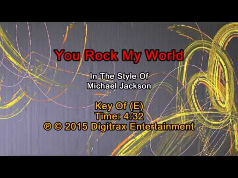 Michael Jackson - You Rock My World (Backing Track)