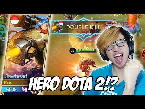 NEW HERO JAWHEAD MIRIP DENGAN HERO DOTA 2? - MOBILE LEGENDS INDONESIA