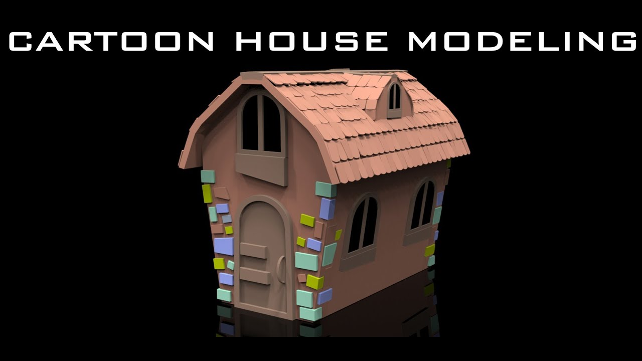 Modeling house maya tutorial