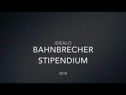 Idealo - Bahnbrecher Stipendium 2018