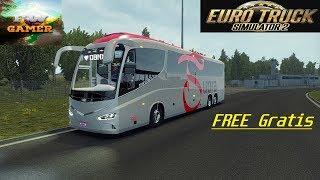 Ets2 Ônibus: Free Grátis IRizar i8 Volvo V 1.36x by: DBMX