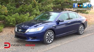 Here's the 2015 Honda Accord Hybrid Review on Everyman Driver