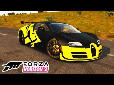 forza horizon 2 bugatti veyron monstra 36 youtube. Black Bedroom Furniture Sets. Home Design Ideas