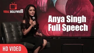 Anya Singh Full Speech   YRF's New Talent