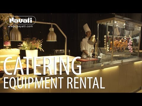 Catering Equipment Rental : Apita Convention Center Cirebon