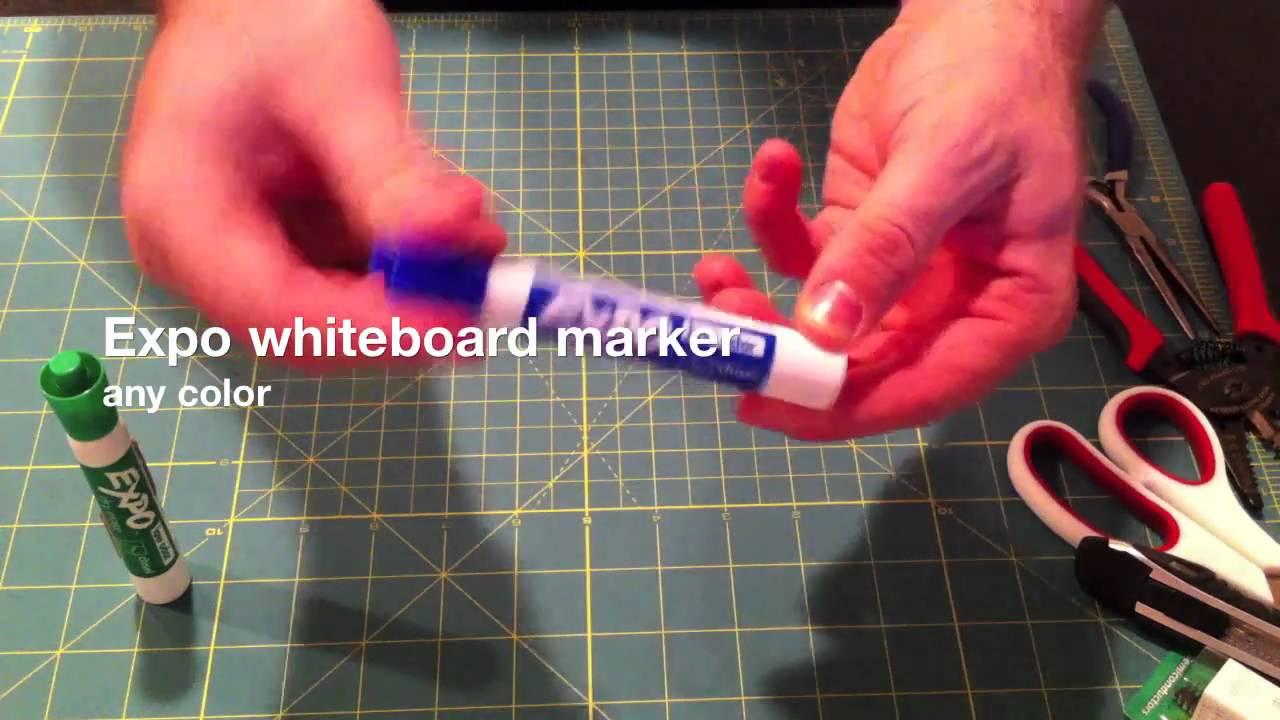 Diy Ipad Stylus Whiteboard Expo Marker With Conductive Foam Youtube Deoxit Pen Radioshack