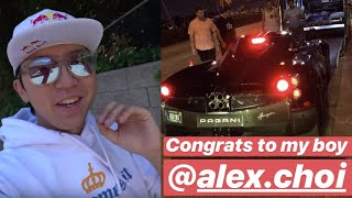 Did Alex Choi BUY a PAGANI??!