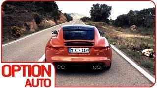 0 100 exhaust sound jaguar f type r coup option auto