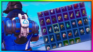 "NEW ""CARBON PACK"" - ALL Skin Combinations in Fortnite (146+ Skins)"