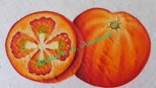 Como Pintar Tomates – Tecido