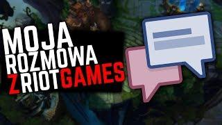 Moja rozmowa z Riot Games!